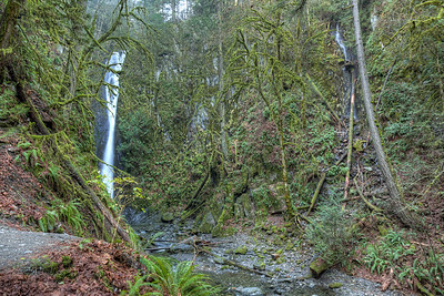 """Goldstream Park Waterfall - Victoria, British Columbia, Canada  Visit our blog """"My Secret Place"""" for the story behind the photo."""