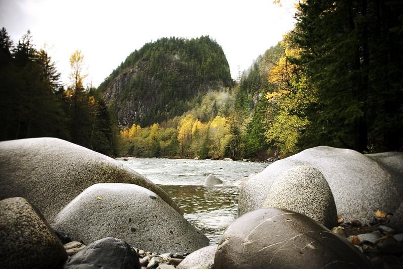 skyomish river near index