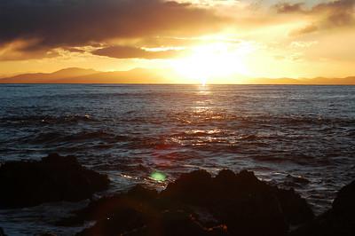 Makara sunset