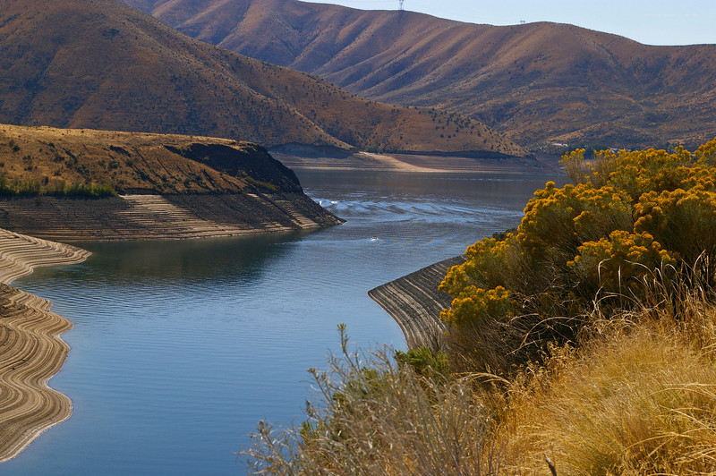 Lucky Peak Dam, In Idaho outside of Boise about 15 miles