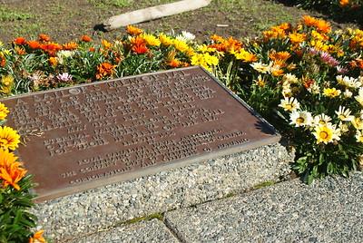 Historic Plaque, Nanaimo, BC, Canada