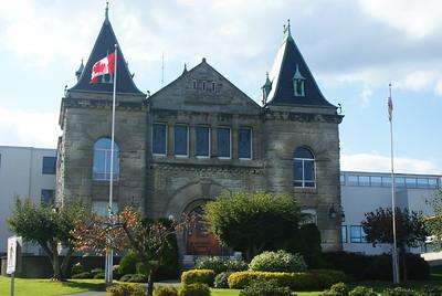 Court Building, Nanaimo, BC, Canada
