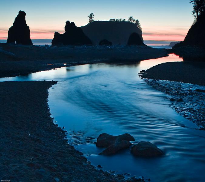 Cedar Creek @ Ruby Beach