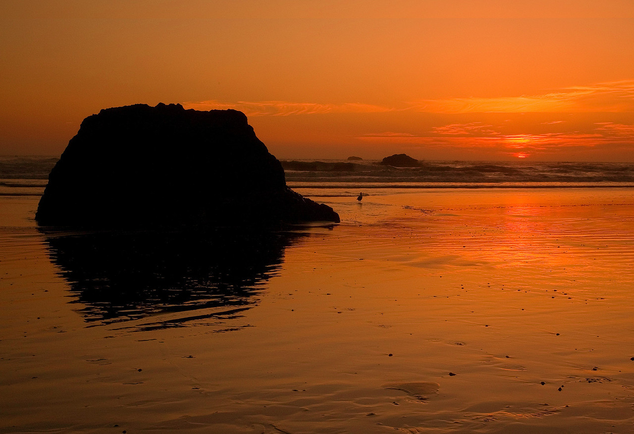 Ruby Beach Sunset 1