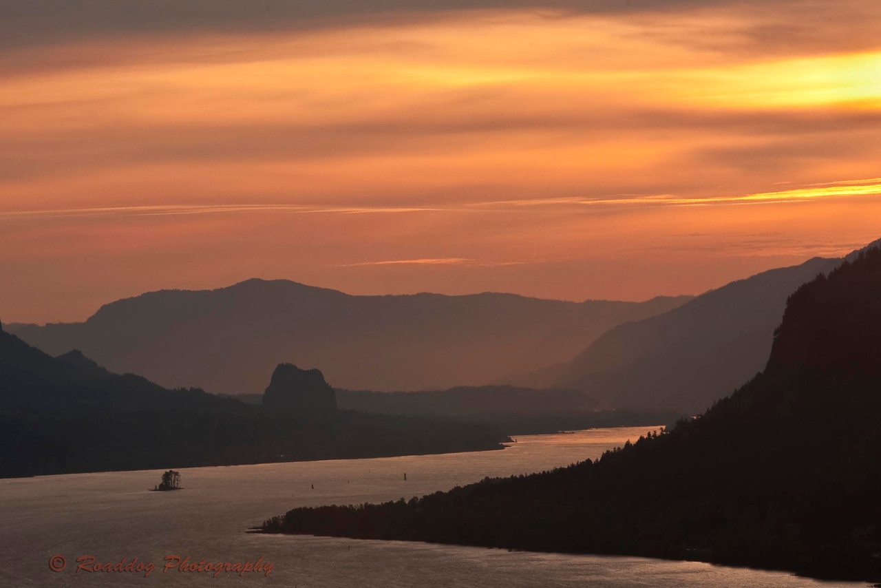 Columbia Gorge Sunrise.