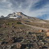 Mt Hood above Timberline Lodge.