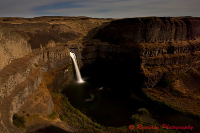 Full Moon on Palouse Falls2