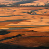 Palouse smoked sunset
