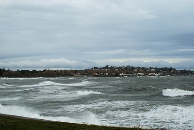 Clover Point Winter Storm 2010 - Victoria, BC, Canada