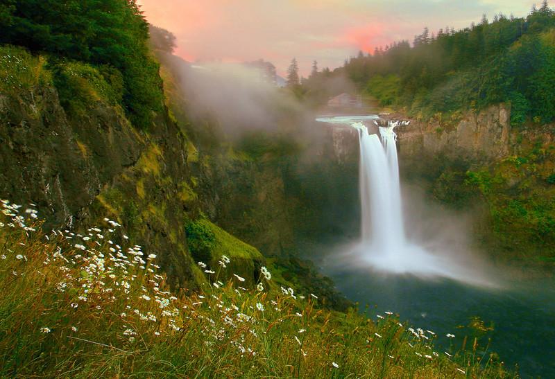 Snoqualmie Falls Sunrise