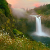 Snoqualmie Falls Sunrise