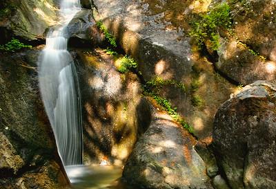 Martin Creek upper falls