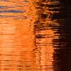 Lake Powell sunset reflection