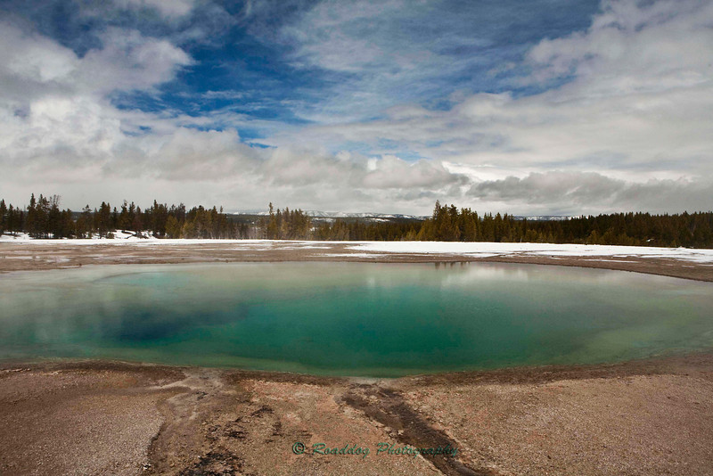 Turquoise Pool, Yellowstone