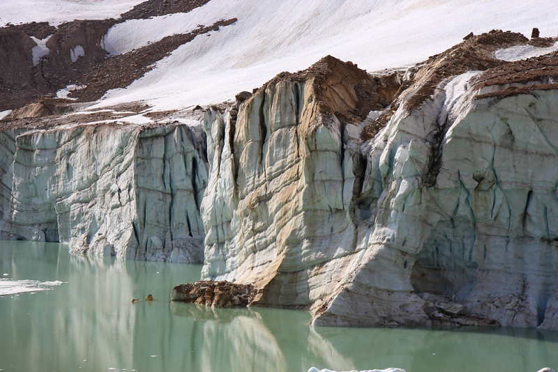 Glaciers Closer Look-At Mount Edith Cavell