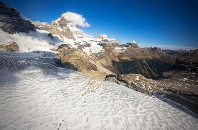 Mt. Assiniboine Glacier Banff National Park Alberta, Canada