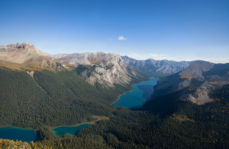 Banff from above.