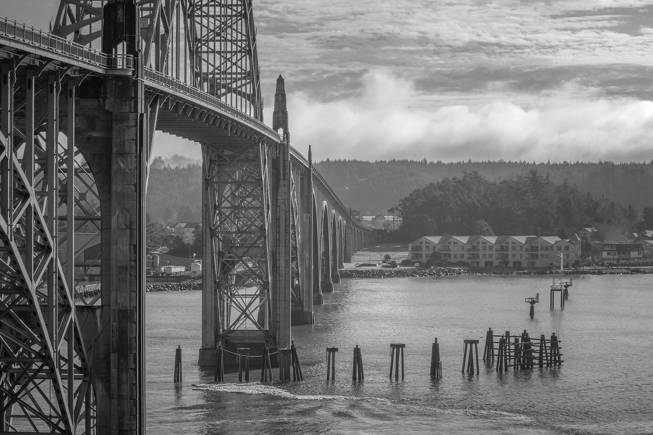 The Yaquina Bay Bridge