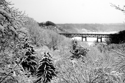 Irondequoit Bay Bridge - Winter 2013