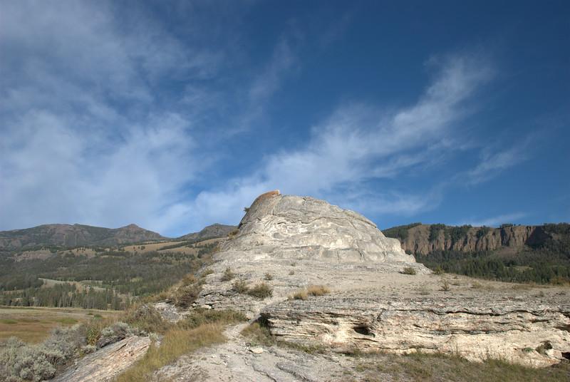 Soda Butte, Lamar Valley, Yellowstone