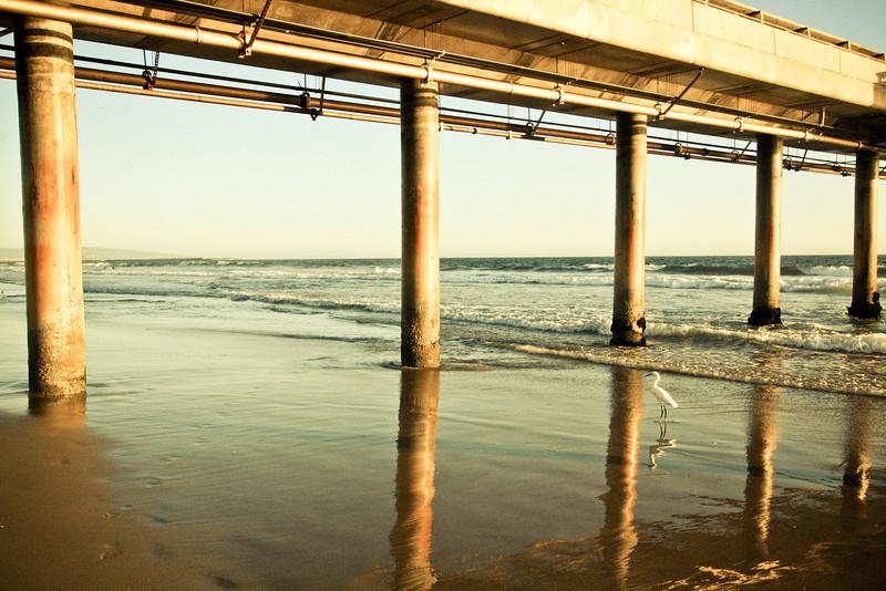 Venice Beach Pier.