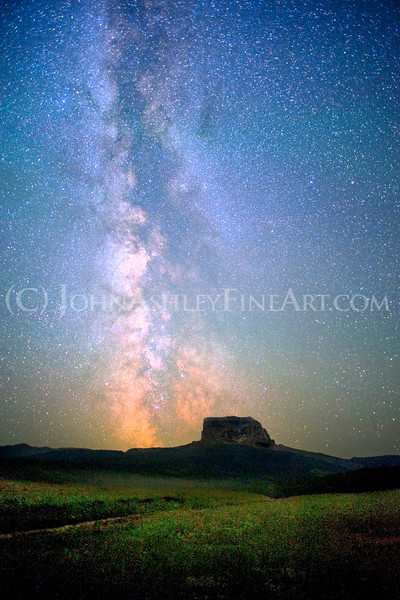 """Chief Mountain Milky Way."""