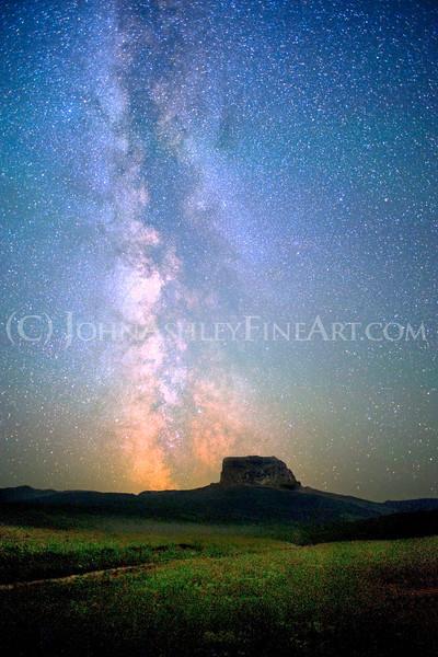 """Chief Mountain Milky Way."""