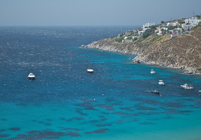 Ornos Beach - Mykonos - Greece