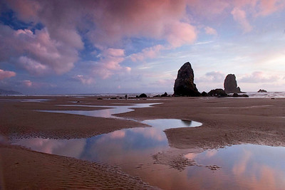 Cannon Beach sunset, Oregon