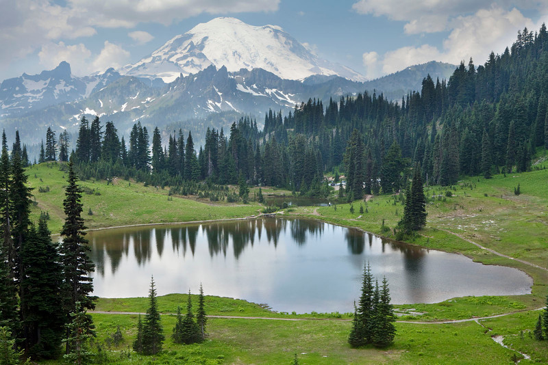 Tipsoo Lake, Mt Rainier, Washington