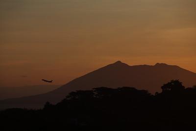 Mt. Arayat. Philippines.