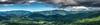 Mountain scene made from Bell Mountain near Hiawassee, Ga.