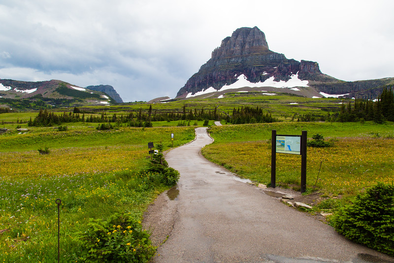 At  Logan Pass