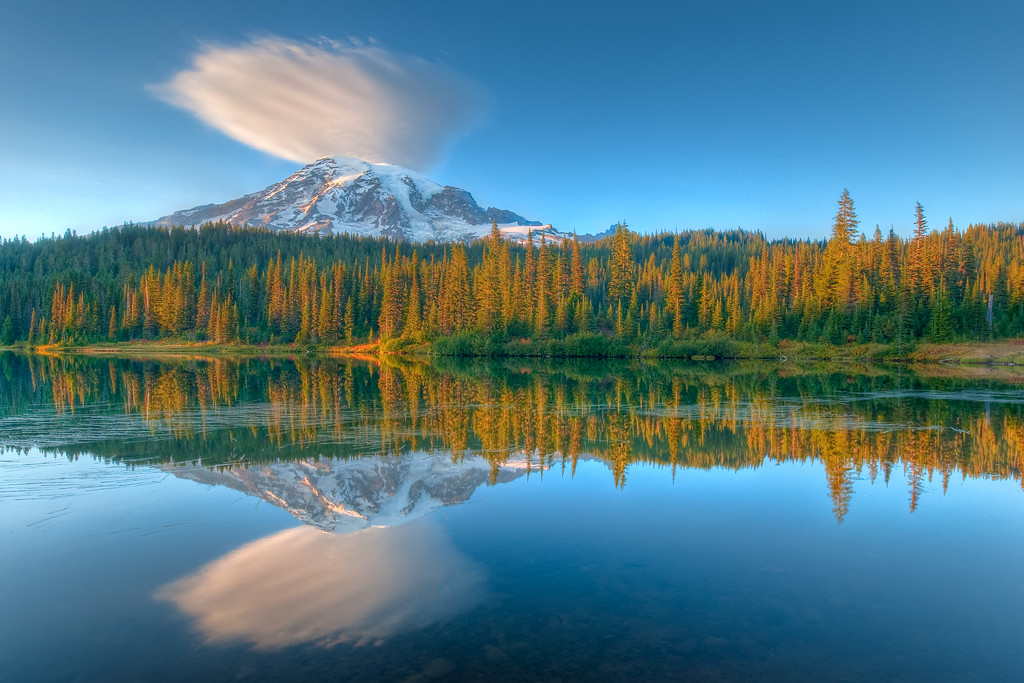 Mt. Rainier Reflection