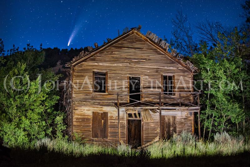 """""""Comet, Montana."""""""