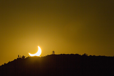 catching the eclipse