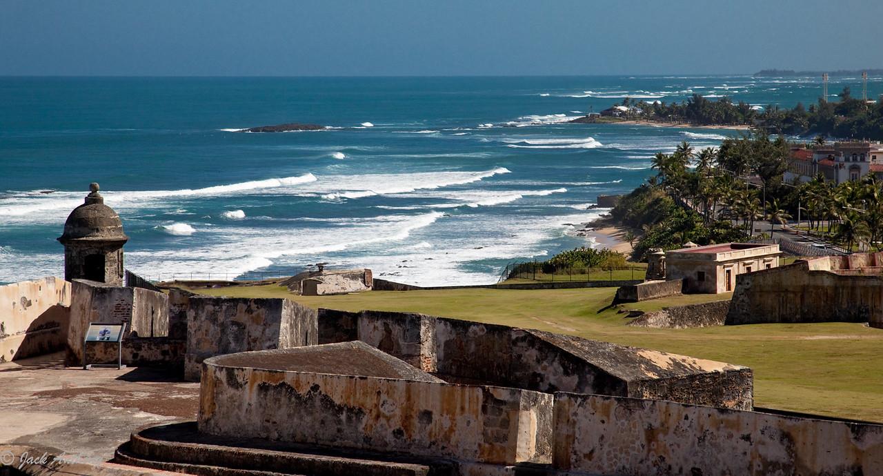 Castillo de San Cristobal, San Juan, Puerto Rico