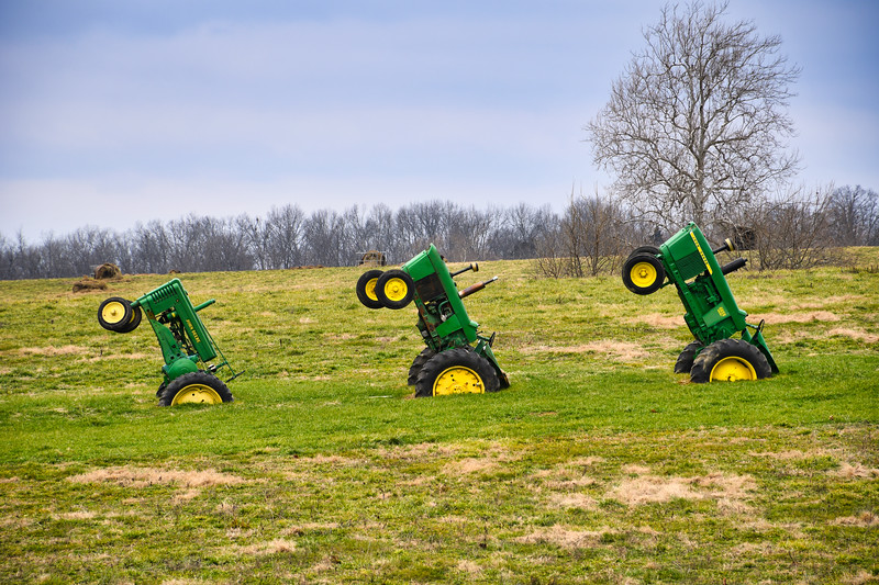 Marching Tractors