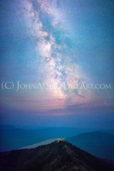 """""""Numa Fire Lookout,"""" Glacier National Park"""