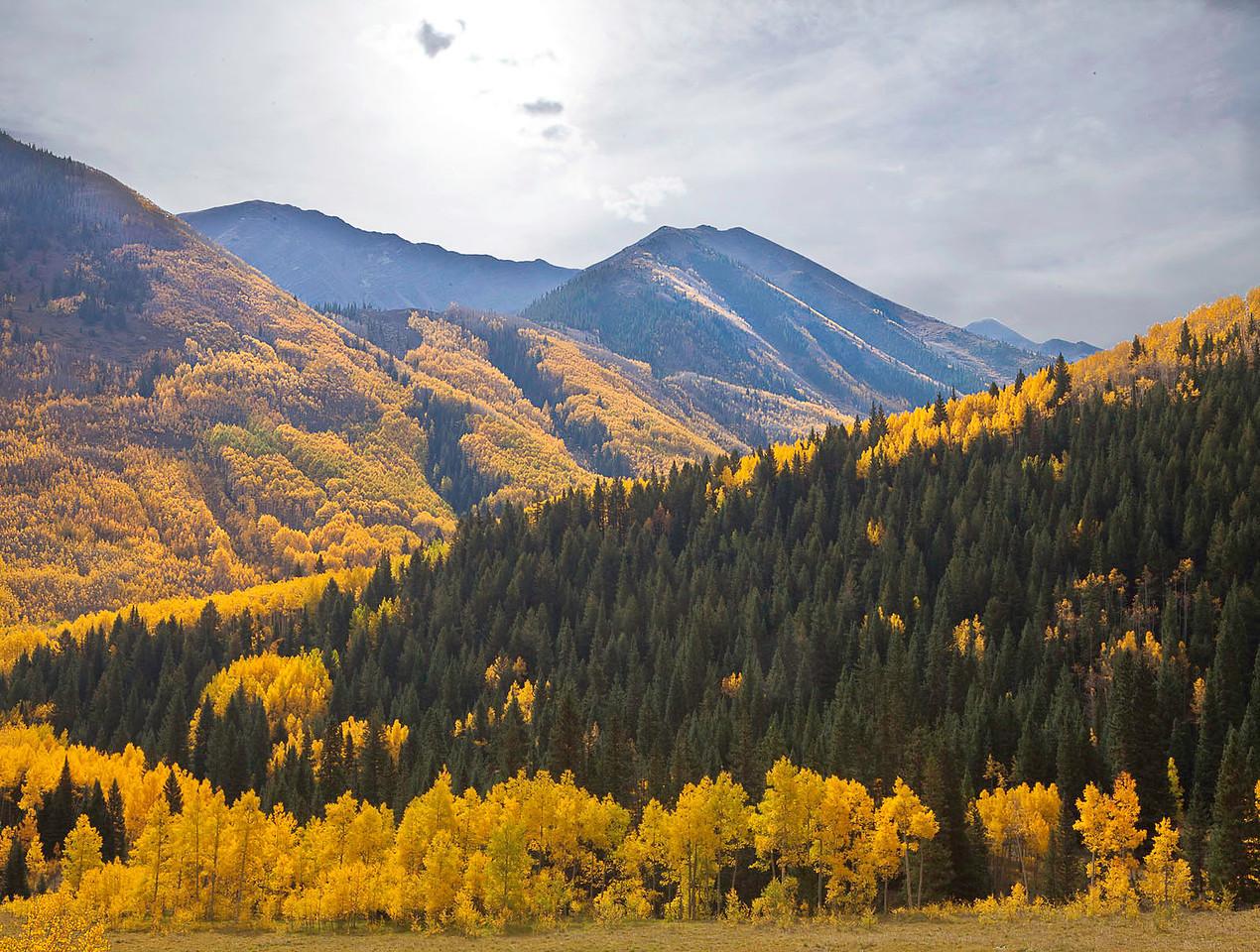 Colorado mountain majesty