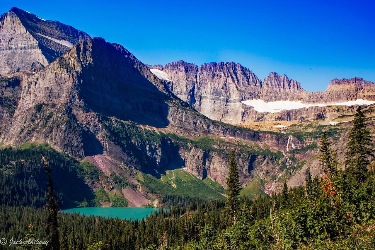 Grinnel Glacier and Lake, Glacier National Park