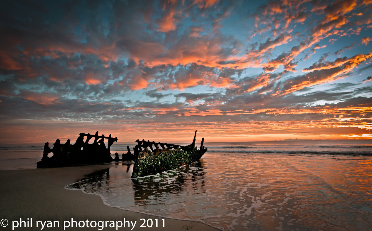 THE SS DICKY WRECK, Queensland, Australia