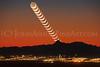 """""""Baboquivari Crescent Moonset."""""""
