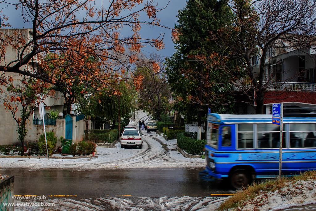 Hail Storm of January 2008