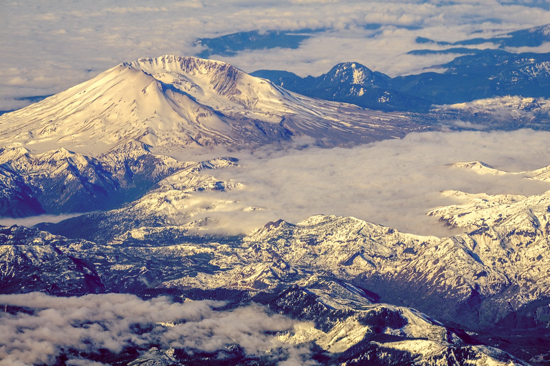 Mount St. Helens from the Air