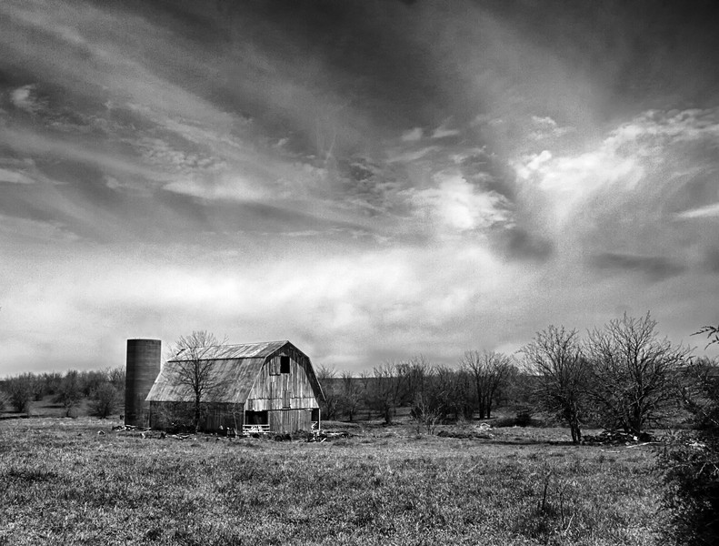 Our Secret is in the Old Barn - Kansas