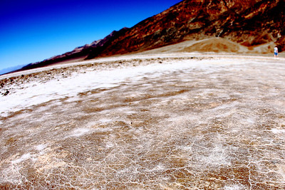 At 282 ft. below sea level, the Badwater Basin is the lowest point in North America.