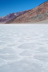 Salt flats, Badwater Basin.