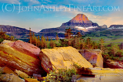 """Logan Pass Alpenglow."""
