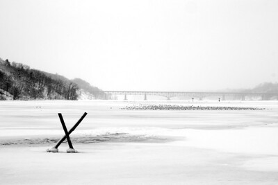 Irondequoit Bay - Winter 2013